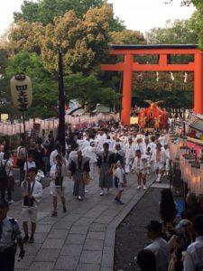 松尾大社の還幸祭
