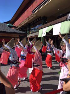 嵐山で阿波踊り!