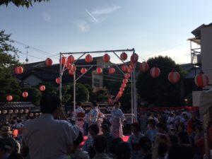 上七軒盆踊り